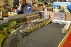 "There was a ""work in progress"" model of an interpretation of Gorey Pier on the Jersey Eastern Railway …"
