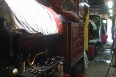 ... and two Tattoo's safely in the Engine Shed together.