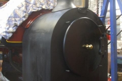 ... so that Jack can return to finish off the first top coat on 7's smokebox.