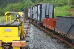 … so that the Heritage Waggons can also be picked up ready to go to Corris.