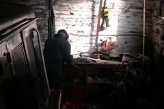 Bob is welding …