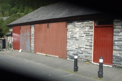 Also over the weekend, doors on the Museum in Corris have received attention, ranging from finish gloss to rubbing down, filling, priming and undercoat prior to re-painting.