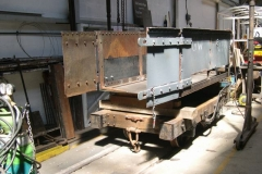 """In the meantime, Ade has turned the """"Queen Mary"""" waggon body and packed it up …"""