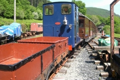 Tuesday, 31.5.2016. After all the excitement over the weekend, stock is re-arranged using locos No. 6 …