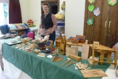 Beautiful wood work on show.