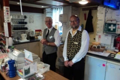 Charles & David smartly dressed for service.
