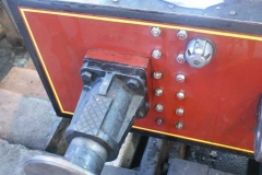 Elsewhere, No. 7's buffer beam has been de-greased – spot the difference with nuts awaiting attention …