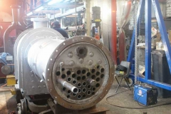 Tubes were being put in No. 7's boiler …