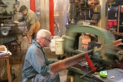 Tuesday, 3.5.2016. Steve and Bob are at work in the Engine Shed …