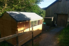 ...we have a new shed!