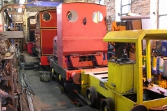 The locomotives have been re-arranged in size order …