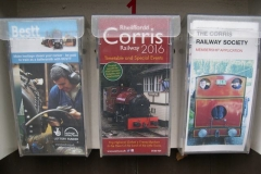 Tuesday, 5.1.16. The new leaflets for 2016 have been placed in the local dispensers.