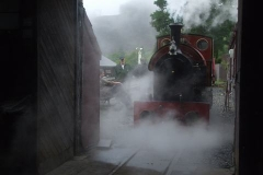 Wednesday, 1.7.2020. That's more like it! No. 7 is steamed for its annual Hot Boiler Test – successfully passed …