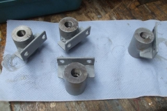 … and various air brake fittings fabricated previously by Bob and Chris …
