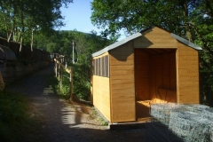 … leaving behind a substantially completed S&T Shed (amongst other things)!
