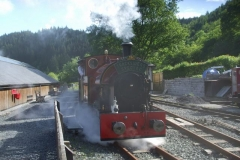 … on their Special to head back to Corris …