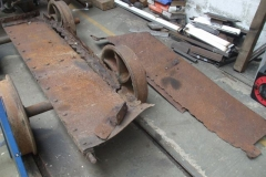Adrian has been dismantling the Heritage waggon body parts …