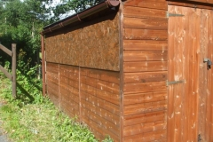 … and re-glazed the P Way Shed!