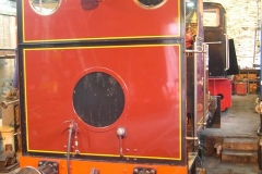 … after a minor boiler problem had been detected. Trains are operated by No. 6 instead.