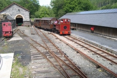 The 15.00 ex-Corris is directed into the South Platform …