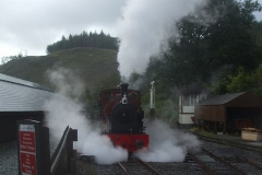 It is generally wet today, so steam effects are more prominent than usual, whether coming ...