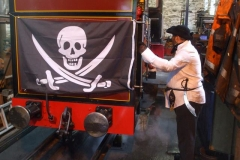 … a Jolly Roger and …
