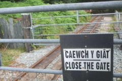 Elsewhere, gate hanging arrangements near the Triangle have been amended so that animals can cross when the railway is not operating, while the gates can be securely locked in position when operating.