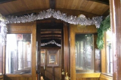 … and decorated carriages …