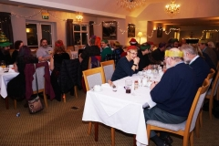 Many members attended the railway's Christmas dinner at the Ty'n y Cornel Hotel, Talyllyn on the Saturday night.