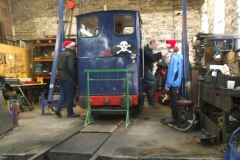 Meanwhile, Trefor has (with others) been working on No. 6 in the Engine Shed.