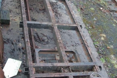 Wednesday, 8.1.2020. Yesterday, the deck of waggon No. 218 was removed …