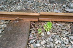 Saturday, 7.5.2016. A broken rail has been spotted in Corris …