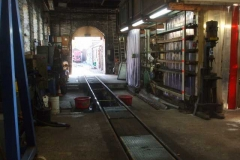 … and it seems unusual to see the Engine Shed devoid of locomotives …