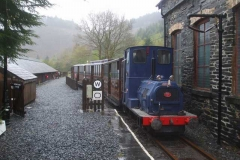 … to go back up to Corris to complete Guard's Training at that end of the line.