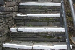 On quieter days, Dick has been repainting step nosings, platform edges and wing rail ends throughout Corris and Maespoeth sites ready for a new season.