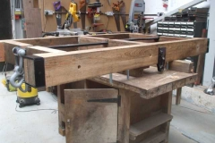 Tuesday, 27.4.2021. The frames for Heritage waggon No. 5 have been drilled and some parts bolted on …