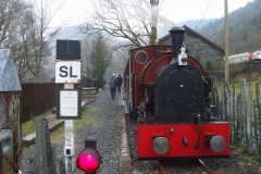 … as a Special was operated for Ffestiniog Travel, involving all sorts of unusual workings, soon completed!