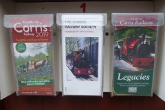 The leaflet racks outside the Sheds have been filled with the latest versions …