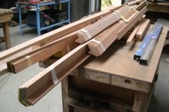 … more timber sections have arrived for carriage No. 23 …