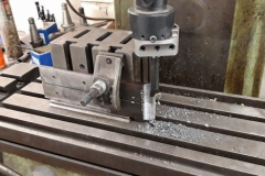 Machining parts for the hinges.