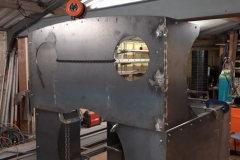 One of a group of photos of volunteer progress on the cab for No. 10. The sub assemblies shown are ready to go to Alan Keef Ltd for trial fitting and further work (3).