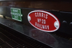 Various plates have been added to the carriages …
