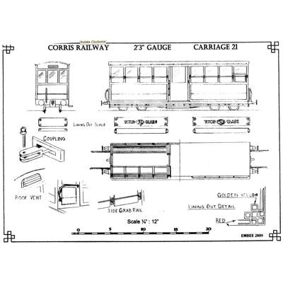 Drawings & Plans - Rheilffordd Corris Railway