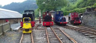 Locos parade at Maepsoeth Junction