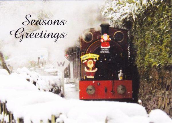 Santa Special in the snow