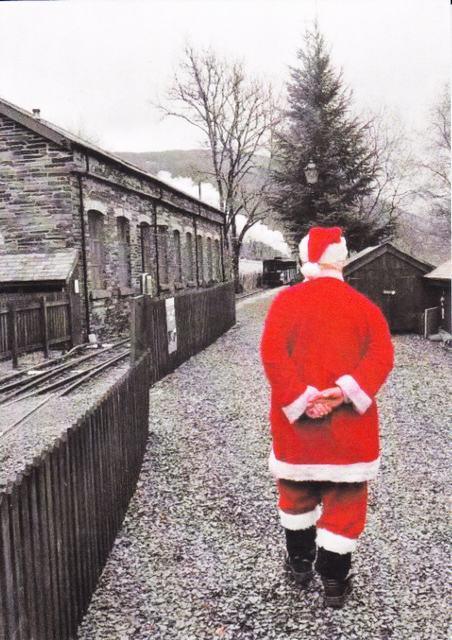 Santa at Maespoeth