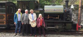Campbell Thomas and ancestors