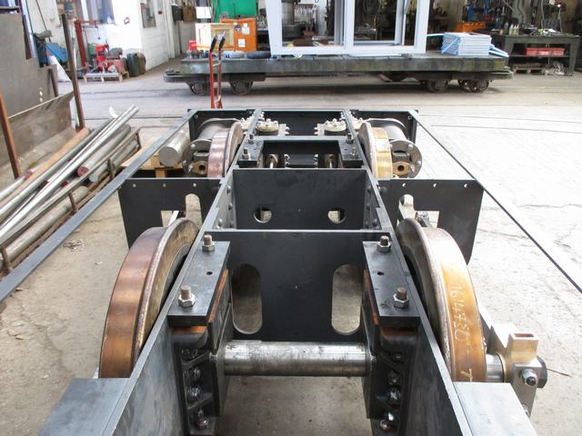 Falcon chassis at Keefs
