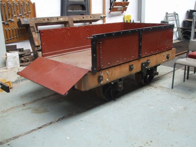 Heritage waggon ready for next Gravity Train
