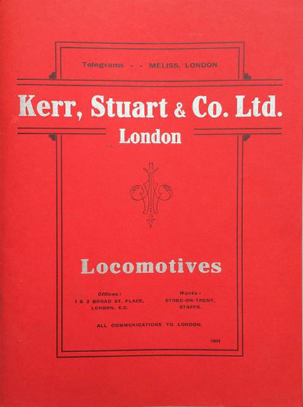 Kerr, Stuart & Co Ltd locomotive catalogue